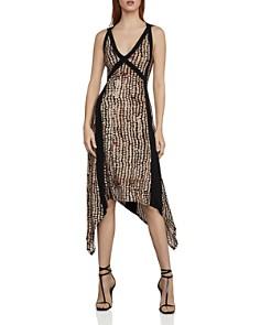BCBGMAXAZRIA - Crisscross-Back Asymmetric Jersey Dress