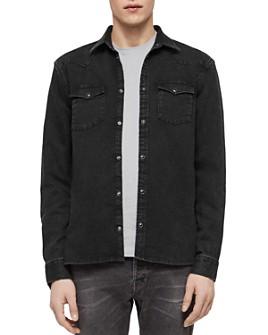 ALLSAINTS - Based Denim Regular Fit Shirt