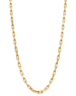 Zoe Lev - 14K Yellow Gold Open Link Chain Necklace, 16""