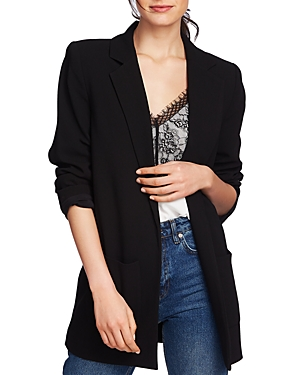 Image of 1.state Crepe Long Open Blazer