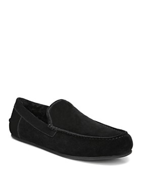 Vince - Men's Gino Suede & Shearling Slippers