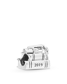 Pandora - Sterling Silver Cap, Book & Scroll Graduation Charm