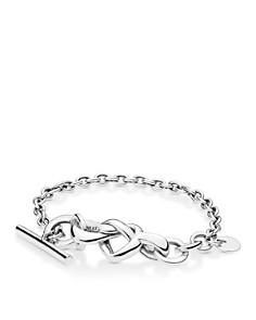 Pandora - Pandora Sterling Silver Knotted Heart Toggle Bracelet