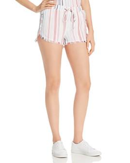 Bella Dahl - Frayed Striped Shorts