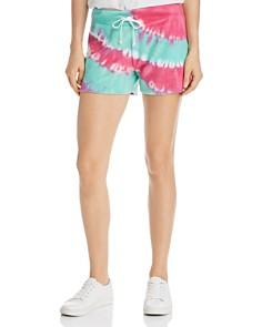 WILDFOX - Kassidy Tie-Dye Terry Shorts
