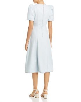kate spade new york - Denim Faux-Wrap Dress