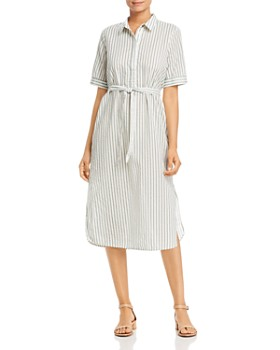 Vero Moda - Cassie Pinstriped Shirt Dress