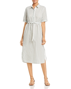 Vero Moda Cassie Pinstriped Shirt Dress