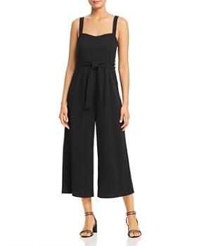 Vero Moda - Olivia Cropped Wide-Leg Jumpsuit