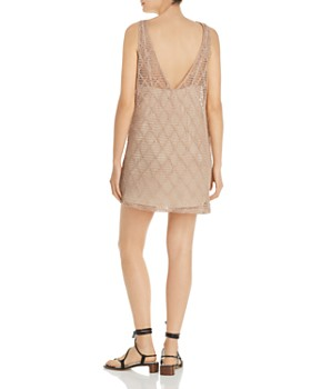 Show Me Your MuMu - Teeny Crochet Mini Dress