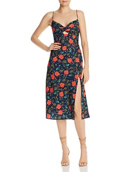 Finders Keepers - Hana Sleeveless Floral Cutout Dress  - 100% Exclusive