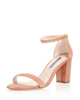 b8854b5ecd2b Stuart Weitzman - Women s Nearly Nude Block Heel Sandals ...