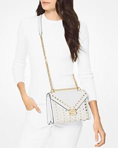 MICHAEL Michael Kors - Whitney Large Studded Leather Shoulder Bag