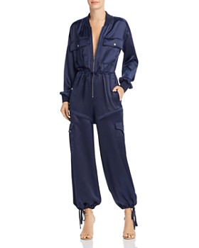 Kendall + Kylie - Satin Convertible Jumpsuit