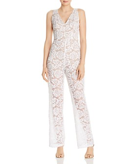 GUESS - Riona Lace Jumpsuit