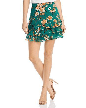 Bardot - Rah Rah Floral Ruffle Skirt - 100% Exclusive