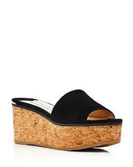 Jimmy Choo - Women's Deedee 80 Platform Slide Sandals