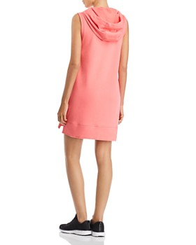 Calvin Klein - Logo Hooded Sweatshirt Dress