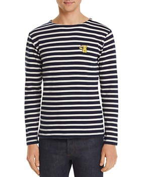 Maison Labiche - x Pokémon Pikachu Long-Sleeve Striped Tee