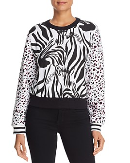 Escada Sport - Mixed Animal Print Sweatshirt