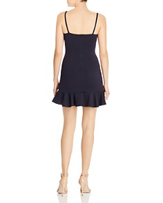 AQUA - Ruffle-Hem Mini Dress - 100% Exclusive