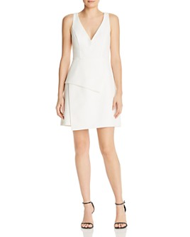 BCBGMAXAZRIA - Tiered Crepe Dress