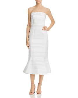 C/MEO Collective - Solitude Strapless Midi Dress
