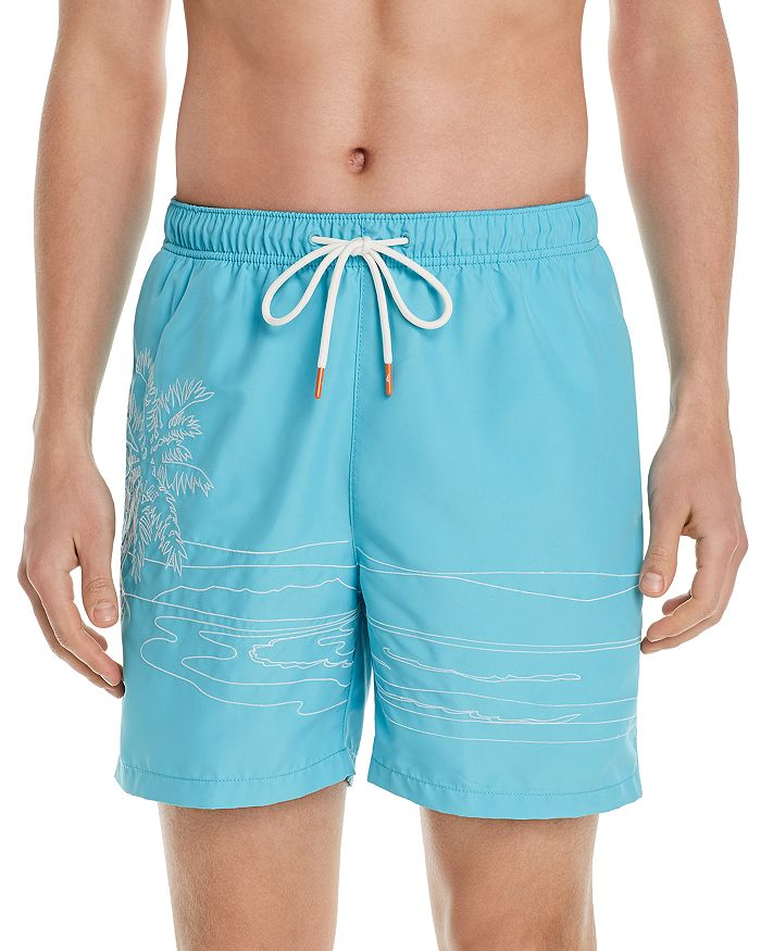 a04f13f417 Tommy Bahama Naples on the Beach Embroidered Swim Trunks ...