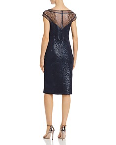 Tadashi Petites - Sequined Cocktail Dress