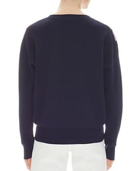 Sandro - Odélie Lace-Inset Sweater