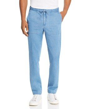 Michael Kors - Chambray Slim Fit Pants - 100% Exclusive