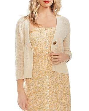 Vince Camuto Knits WAVE KNIT CARDIGAN