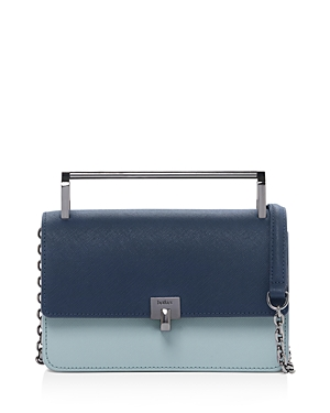 Botkier Lennox Small Color-Block Leather Crossbody-Handbags