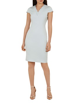 6ffaad3ad3bcb Ted Baker - Working Title Kloee Neck-Detail Dress ...