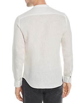 Sandro - Mao Slim Fit Linen Shirt