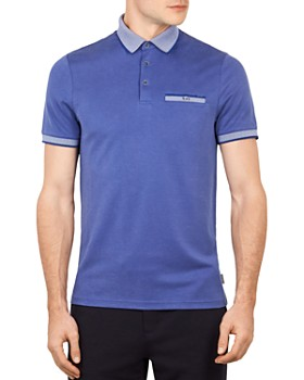Ted Baker - Frog Flat Knit Polynosic Polo Shirt