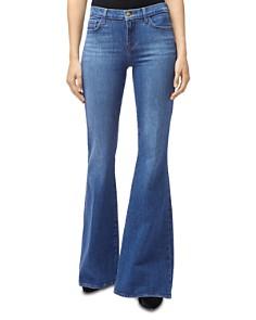 J Brand - Valentina Flared Jeans in Endeavor