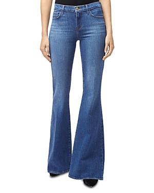 J Brand Jeans VALENTINA FLARED JEANS IN ENDEAVOR