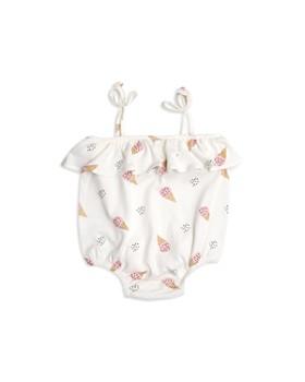 Tun Tun - Girls' Ice Cream Ruffle Bodysuit - Baby
