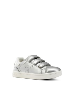 Geox - Girls' J Djrock Metallic Sneakers - Little Kid