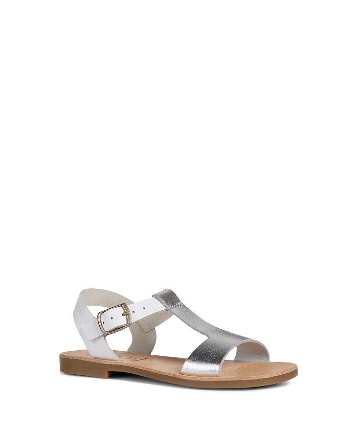 Geox - Girls' J Violette Leather Sandals - Toddler, Little Kid