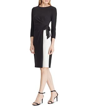Ralph Lauren - Color-Block Jersey Dress