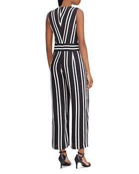 Ralph Lauren - Striped Slit-Hem Jumpsuit