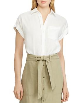 Ralph Lauren - Lace-Inset Shirt
