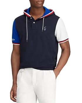 Polo Ralph Lauren - Short-Sleeve Hooded Color-Block Sweatshirt