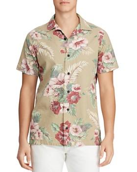 d3812e59 Polo Ralph Lauren - Short-Sleeve Classic Fit Hawaiian Shirt ...