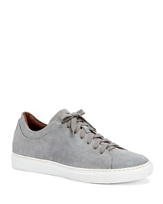 Aquatalia - Men's Alaric Suede Low-Top Sneakers