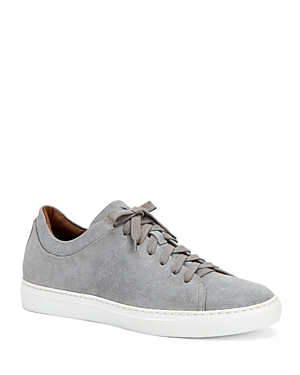 Aquatalia Sneakers MEN'S ALARIC SUEDE LOW-TOP SNEAKERS