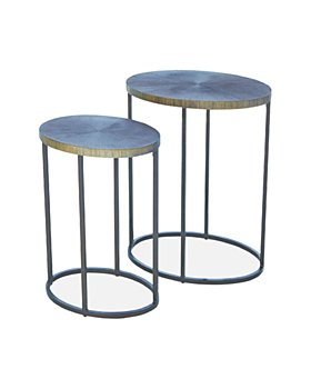 Global Views - Striated Accent Table Collection