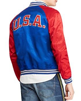 70998b239d8c ... Polo Ralph Lauren - Satin Varsity Jacket